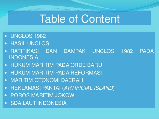 unclos ii Start studying aphg: unclos: law of the sea learn vocabulary, terms, and more with flashcards, games, and other study tools  unclos ii - second conference on the .