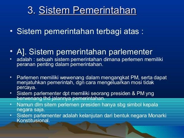 SISTEM PEMERINTAHAN DI MALAYSIA