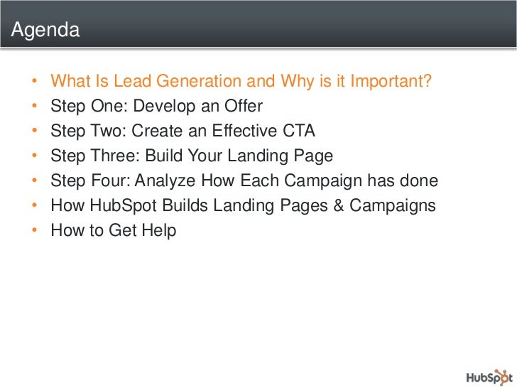 Key Elements for Lead Generation Slide 2