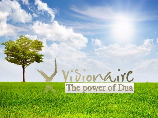 Visionaire ReTreat - The Power of Dua