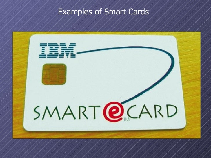 an introduction to smartcard Introduction smart card enhanced solutions and the use of smart cards for strong why a smart card smart cards are a key component of the public key.
