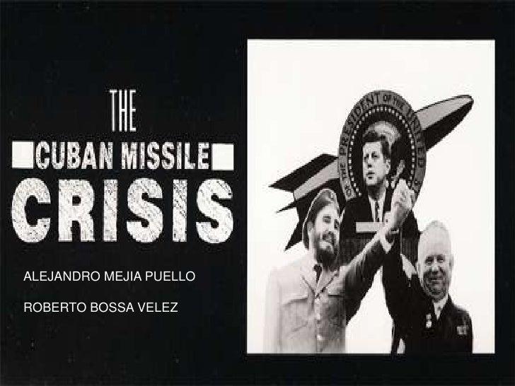 ALEJANDRO MEJIA PUELLO<br />ROBERTO BOSSA VELEZ<br />