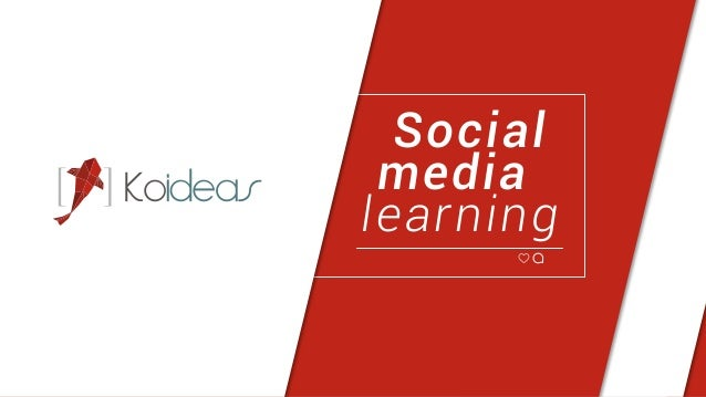 Social media learning