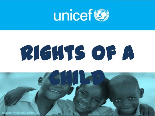 Rights of a   Child