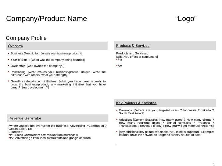 "Company/Product Name                                                                                                 ""Logo..."