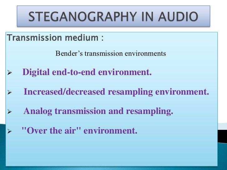 Methods of Audio Data Hiding   Low-bit encoding :   Phase coding :   Echo data hiding :