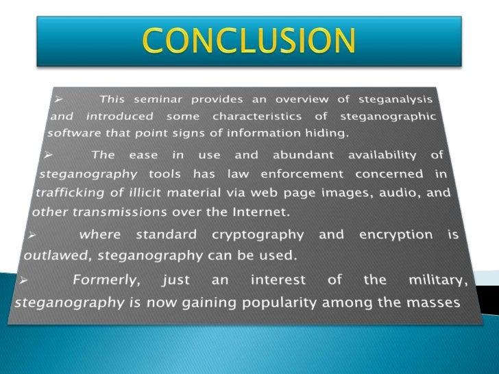 PPT steganography