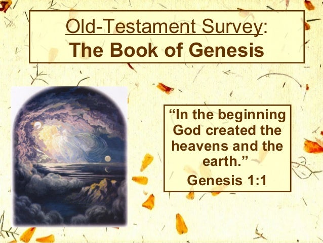 Summaries of the Old Testament Books
