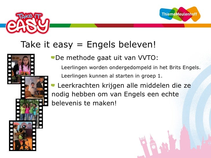 Uitzonderlijk Presentatie Take it easy groep 1-4 @LT18