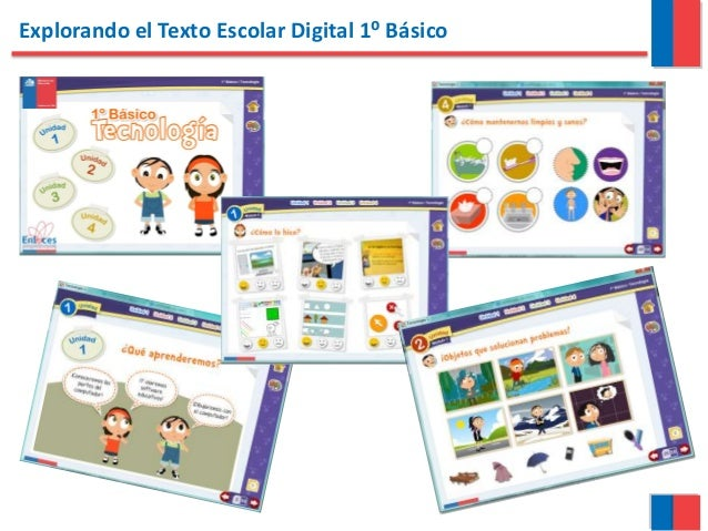 Explorando el Texto Escolar Digital 1⁰ Básico