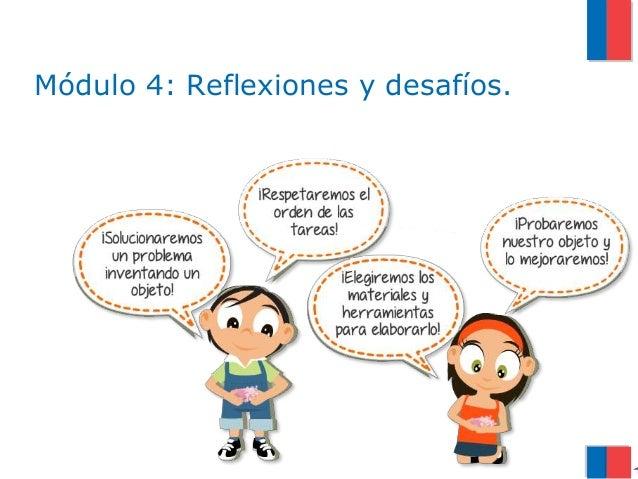 Módulo 4: Reflexiones y desafíos.
