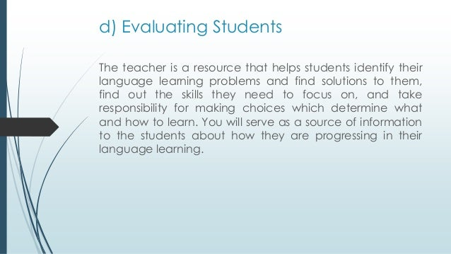 Teaching English for Specific Purposes (ESP)