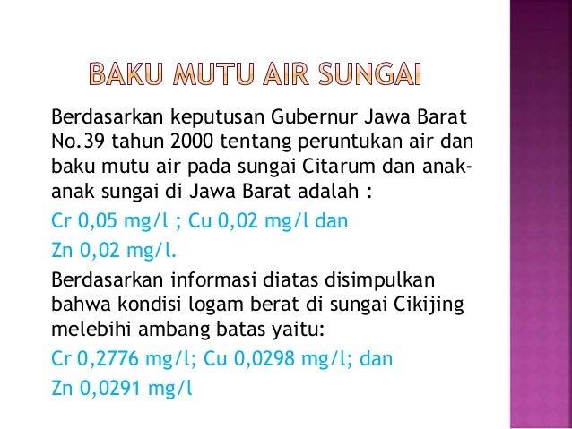 Bahaya Logam Berat Kromium (Cr) Bagi Kesehatan Manusia