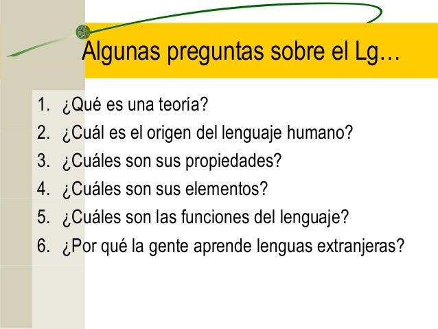Teor as del lenguaje humano or genes caracter sticas - Inmobiliaria origen ...