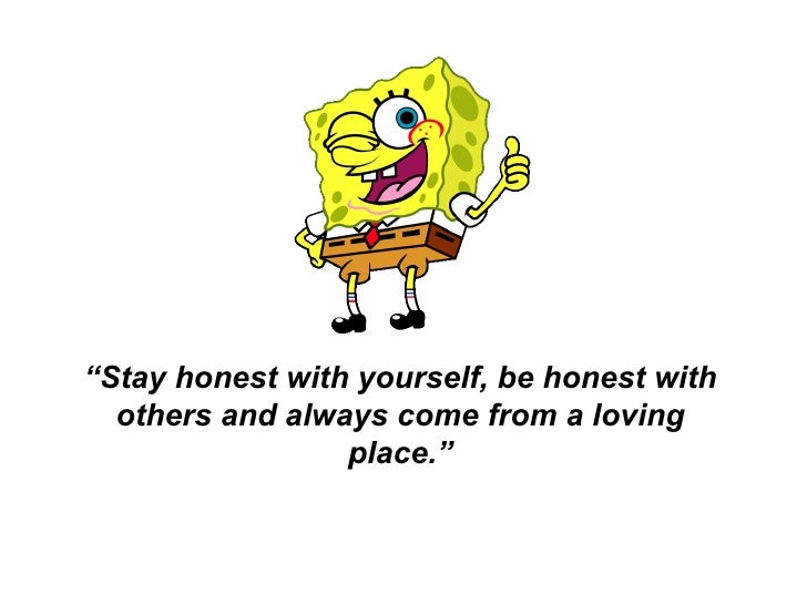 Being honest with others