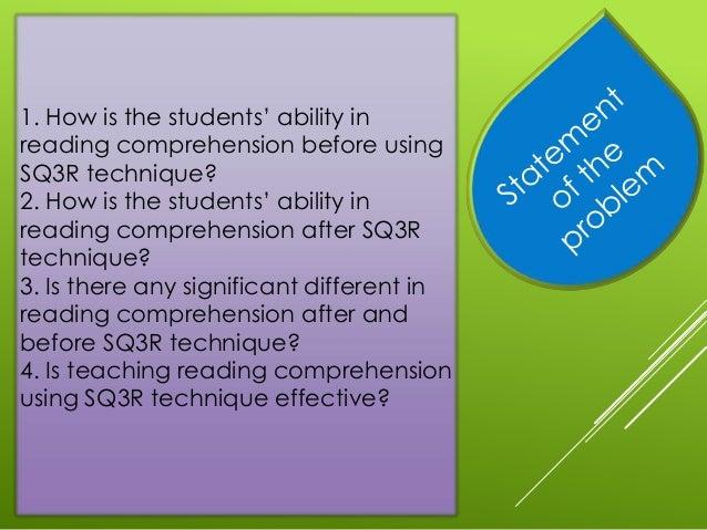 thesis about sq3r technique