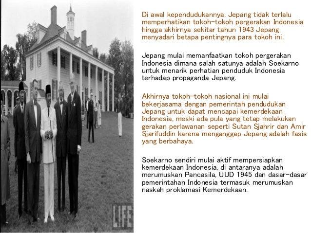Pada tanggal 17 Agustus 1945, Indonesia memplokamirkan kemerdekaannya. Teks proklamasi secara langsung dibacakan oleh Soek...