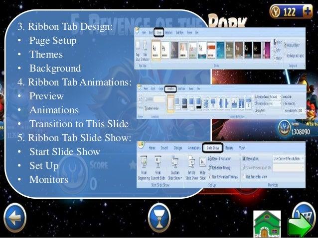"7. MENYIMPAN DOKUMEN PPT 2007 Cara 1 • Klik Tombol ""Microsoft Office"" • Klik ""Save As"" Cara 2 • Tekan CTRL + S"
