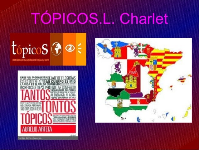 TÓPICOS.L. Charlet