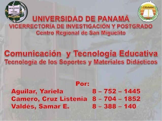 Samar Valdés Los materiales didácticos son los elementos que emplean los docentes para facilitar y conducir el aprendizaje...
