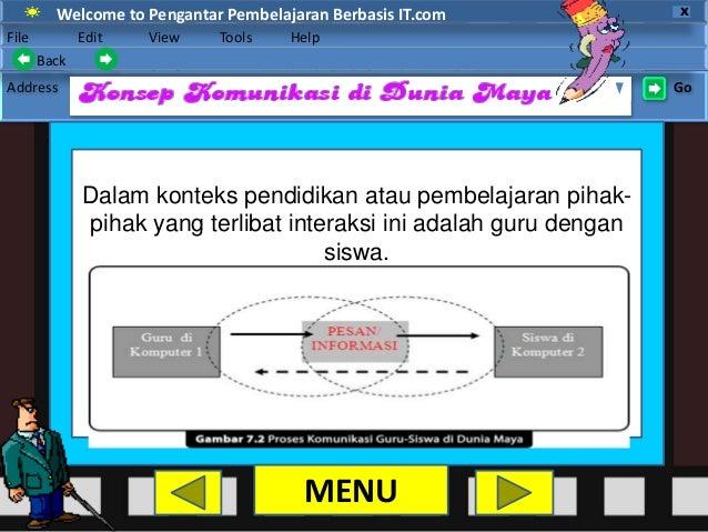 Ppt Pengantar Pembelajaran Berbasis It