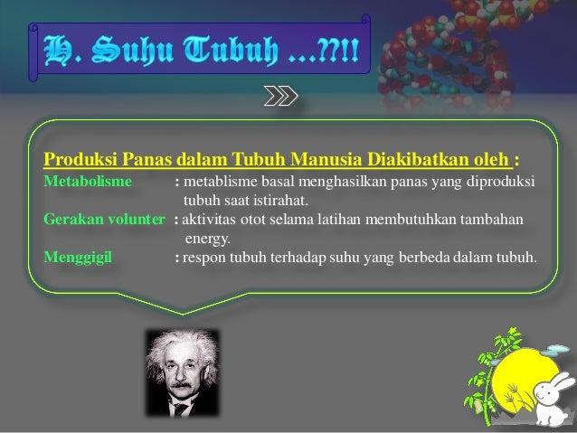SUHU TUBUH MANUSIA