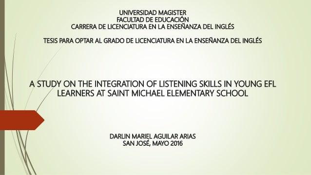 En uslistening skills essay