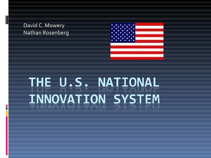 David C. Mowery Nathan Rosenberg