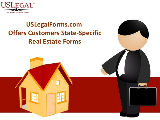 USLegalForms.com Offers Customers State-Specific Real Estate Forms