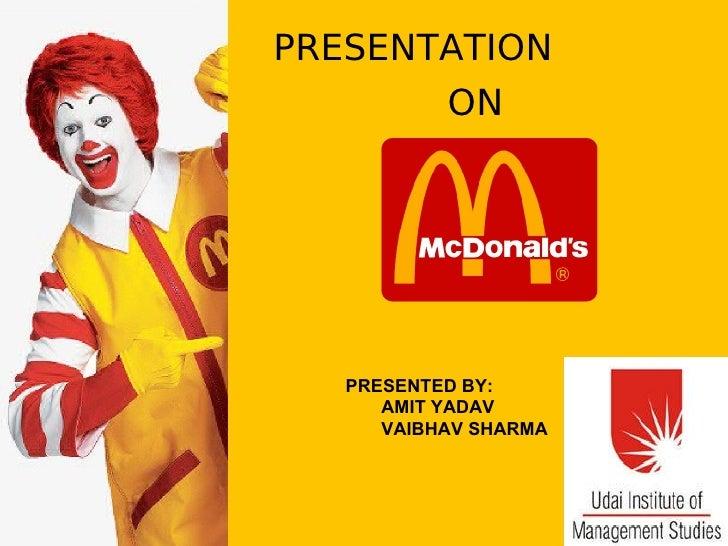 PRESENTATION ON PRESENTED BY: AMIT YADAV VAIBHAV SHARMA