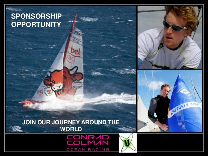SPONSORSHIPOPPORTUNITY<br />JOIN OUR JOURNEY AROUND THE WORLD<br />