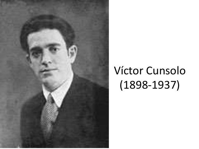 Víctor Cunsolo (1898-1937)