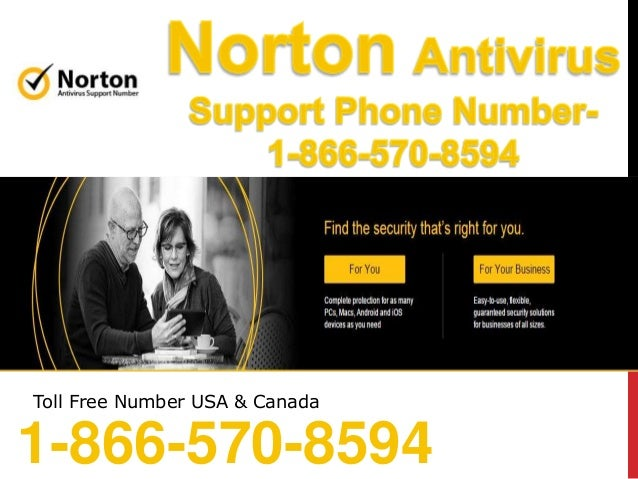 Norton support phone Number - 1-866-570-8594