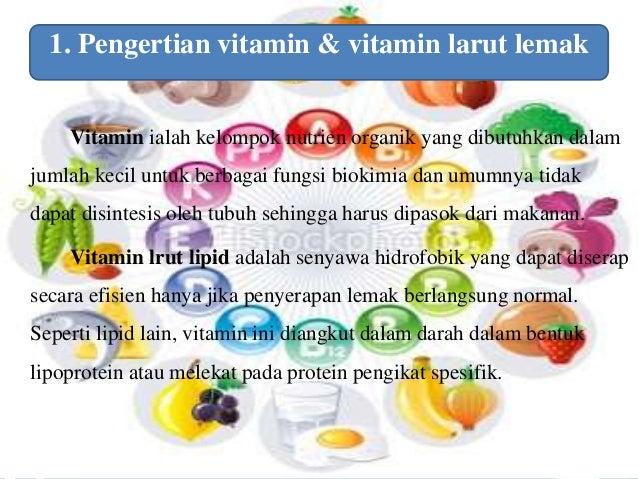 Ppt Vitamin Larut Lemak