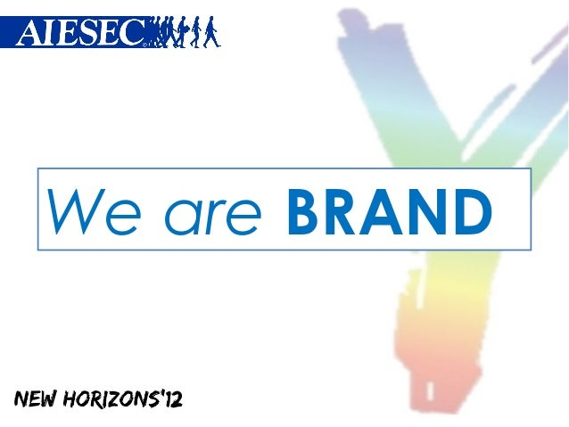 We are BRAND