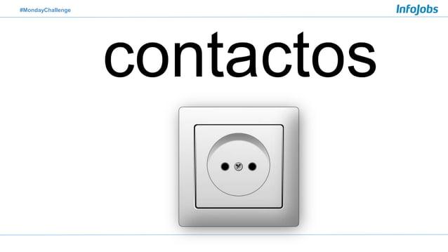 #MondayChallenge contactos