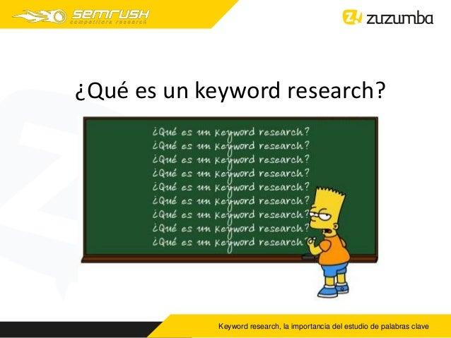 Webinar de Semrush. Keyword Research, la importancia del estudio de palabras clave Slide 3