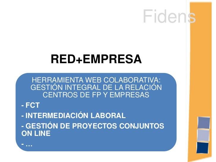 Fidens<br />RED+EMPRESA<br />
