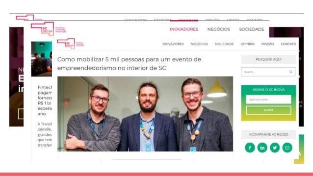 Santa Catarina e seu ecossistema de inovação
