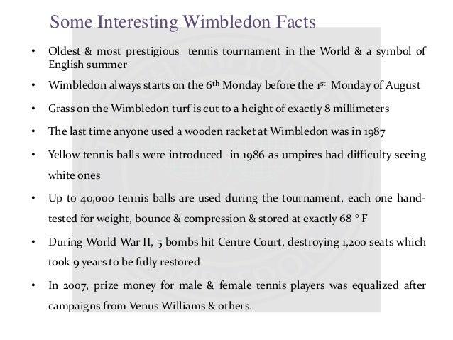 Facts About Wimbledon Tennis - image 10