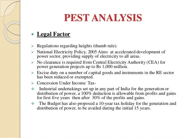 pest analysis of wind turbine manufacturing business Looking for pest analysis method that may affect the environment of business pest is especially beneficial when an to service and manufacturing.