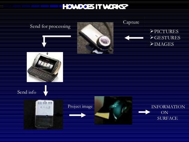 HOW DOES IT WORKS? <ul><li>PICTURES </li></ul><ul><li>GESTURES </li></ul><ul><li>IMAGES </li></ul>INFORMATION  ON  SURFACE...