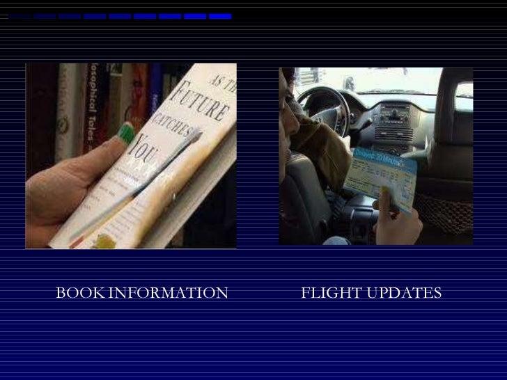 BOOK   INFORMATION FLIGHT UPDATES
