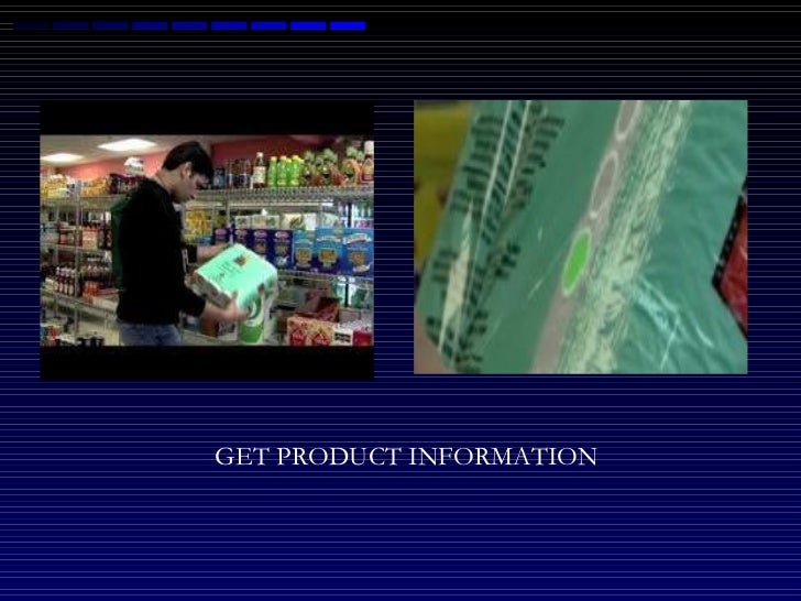 GET PRODUCT INFORMATION