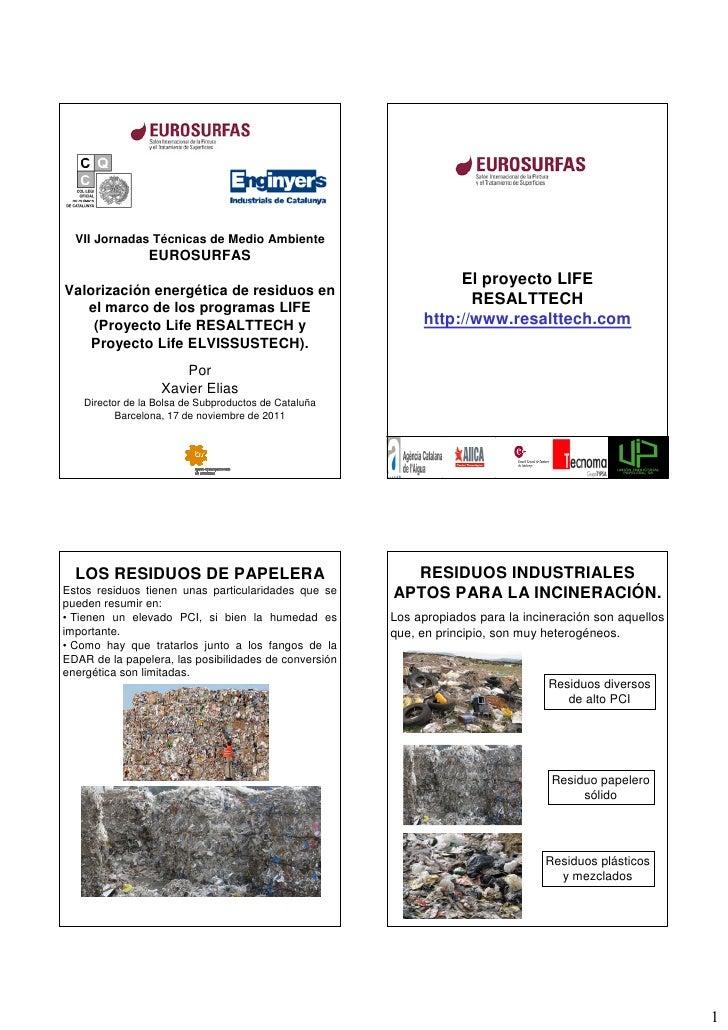 VII Jornadas Técnicas de Medio Ambiente                 EUROSURFAS                                                        ...