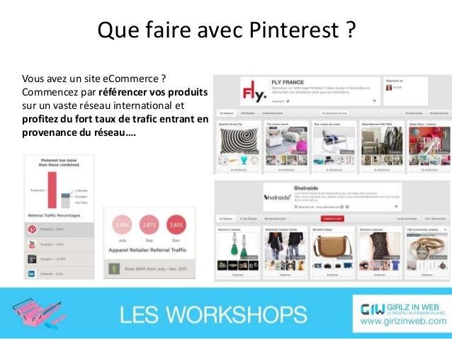 Que faire avec Pinterest ? … Mettre en avant des promotions spéciales pour les utilisateurs du réseau….
