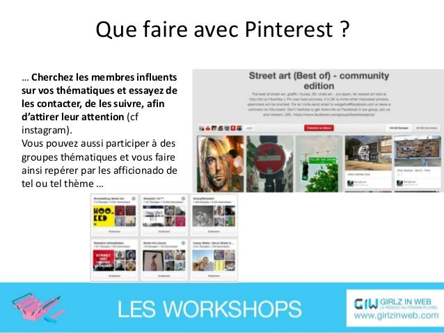Que faire avec Pinterest ? … Proposer des concours à vos fidèles fans qui « réépingleront » vos visuels : une bonne manièr...
