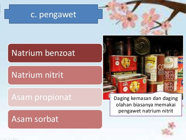 G. Penambahan aroma (essens/flavour) o Etil butirat : rasa buah nanas o Metil butirat : rasa buah apel o Oktil asetat : ra...