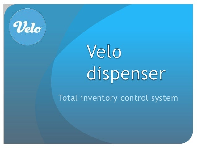 Total inventory control system