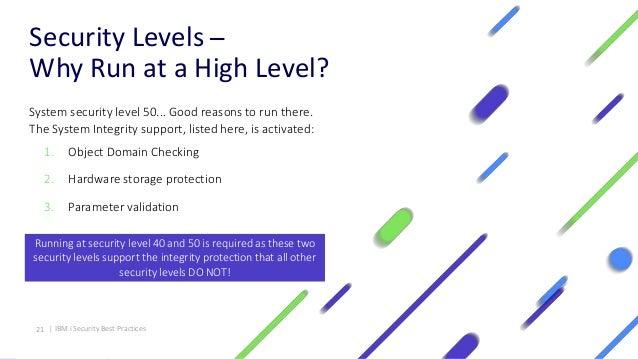 IBM i Security Best Practices